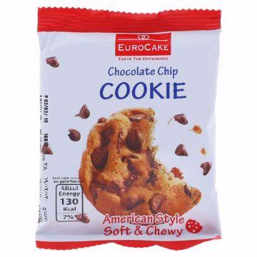 صورة EUROCAKE CHOCOLATE CHIP COOKIE 28G