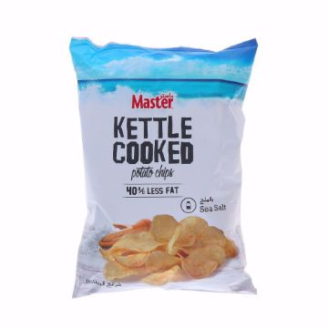 Picture of MASTER KETTLE COKED POT CHIPS SALT170G