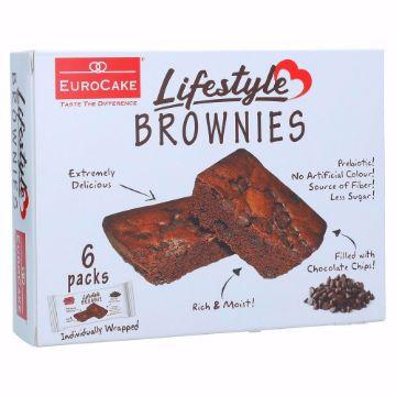 صورة EUROCAKE LIFESTYLE  BROWNIE 6PCS BOX