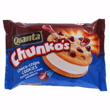 Picture of QUANTA CHUNKOS CHOCOCHIPS COOKIES 100ML