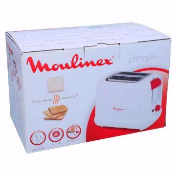 صورة MOULINEX PRINCIPIO 3TOASTER 2SLOTS WHITE