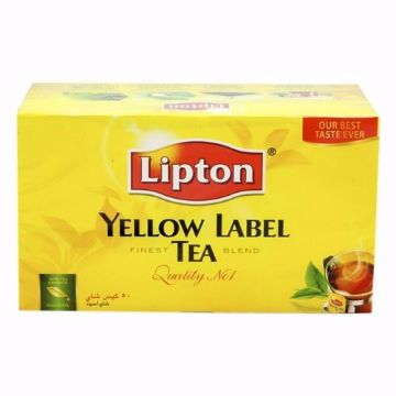 صورة LIPTON YELLOW LABEL TEABAG 50s
