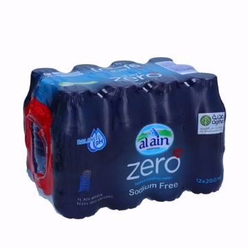 صورة AL AIN WATER ZERO 12X200ML