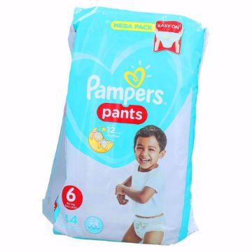 Picture of PAMPERS PANTS S6 44 JP