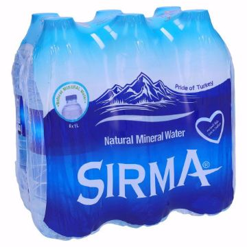 Picture of SIRMA NATURAL MINERAL WATER 6X1L