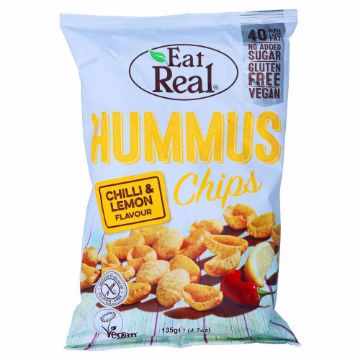 صورة HUMUS CHIPS CHILLI - LEMON135G