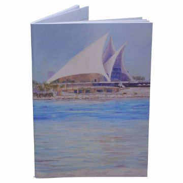 Picture of FEKRA PAINTINGS NOTEBOOK BLUE