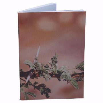 Picture of FEKRA PAINTINGS NOTEBOOK GREEN