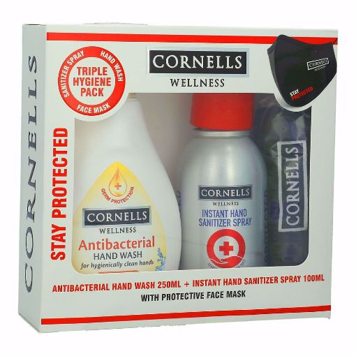 Picture of CORNELLS  H/W 250 ML +SANIT 100 ML+FACE MASK